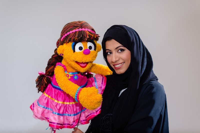 New Iftah Ya Simsim Muppet, Shams, to make first public appearance during Abu Dhabi International Book Fair