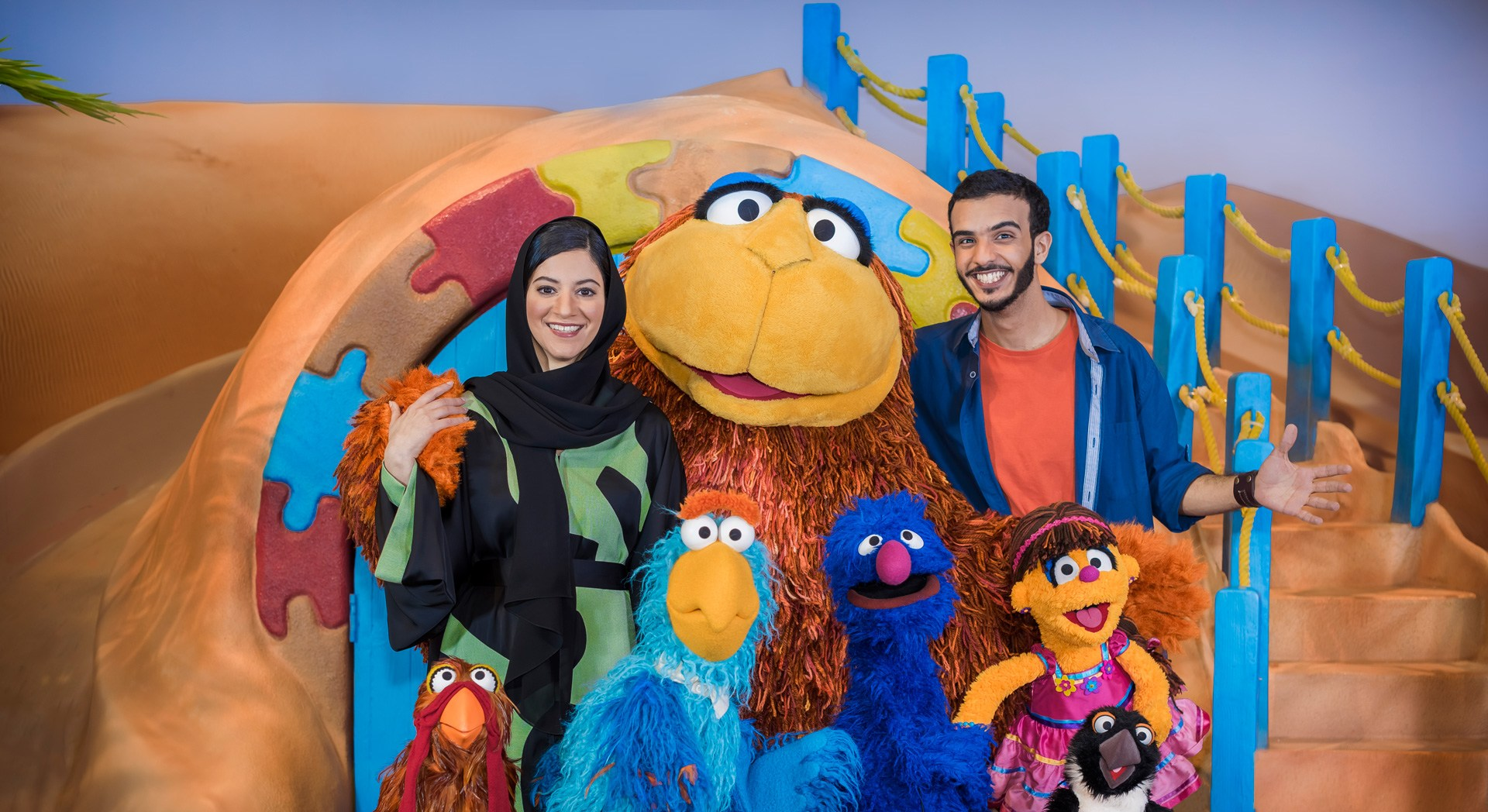 Iftah Ya Simsim unveils full cast to kick off its in-studio production phase in Abu Dhabi