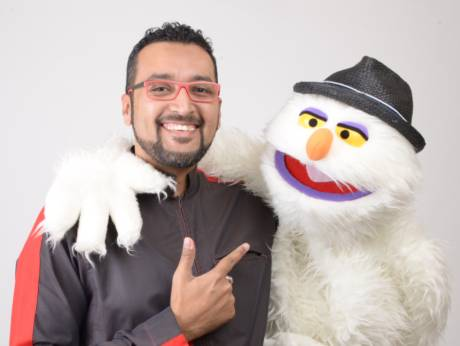 Saudi puppeteer Ammar Al Sabban